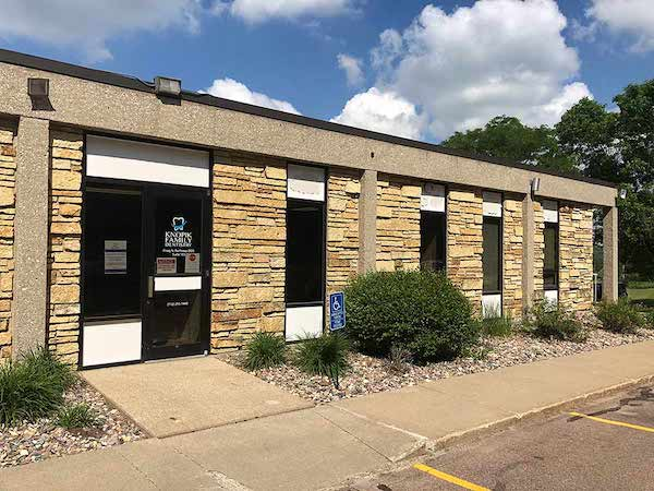 The exterior of The Dentist at Hamilton office in Sioux City, Iowa