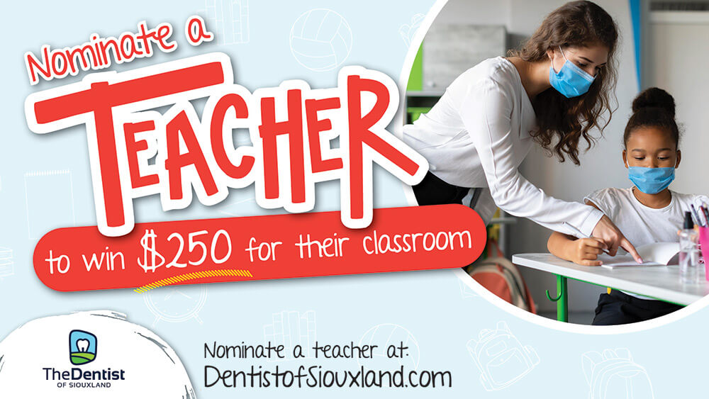 Nominate A Teacher promotional image